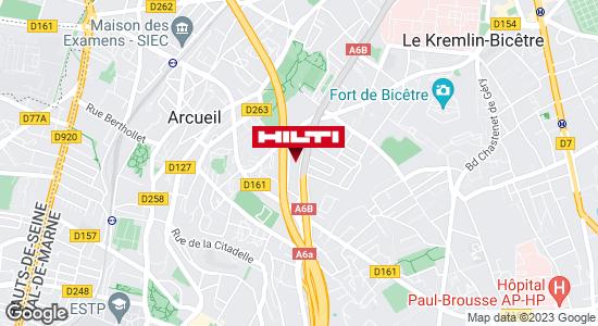 Espace Hilti - La Plateforme du Bâtiment - Arcueil