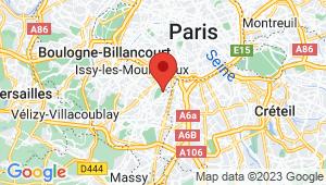 Carte de localisation du centre de contrôle technique EU