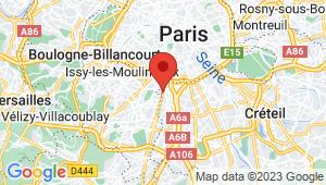 Carte de localisation du centre de contrôle technique ARCUEIL
