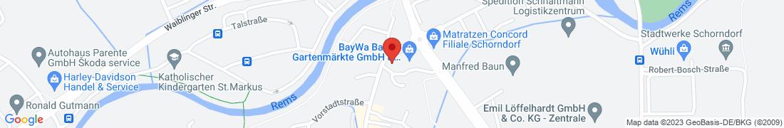 BayWa AG Schorndorf Anfahrt