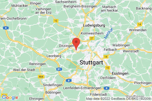 Karte Stuttgart Wolfbusch