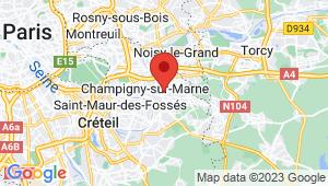 Carte de localisation du centre de contrôle technique CHAMPIGNY SUR MARNE