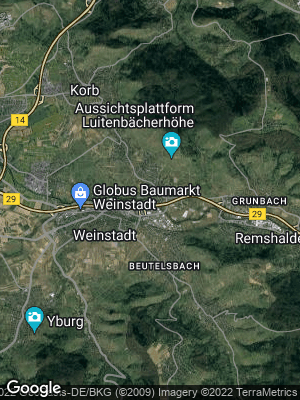 Google Map of Großheppach