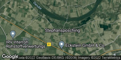 Google Map of Stephansposching