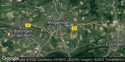 Google Map of Mögglingen