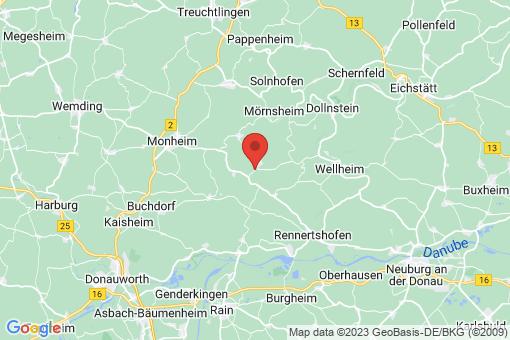 Karte Tagmersheim