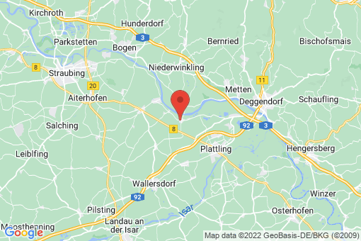 Karte Stephansposching