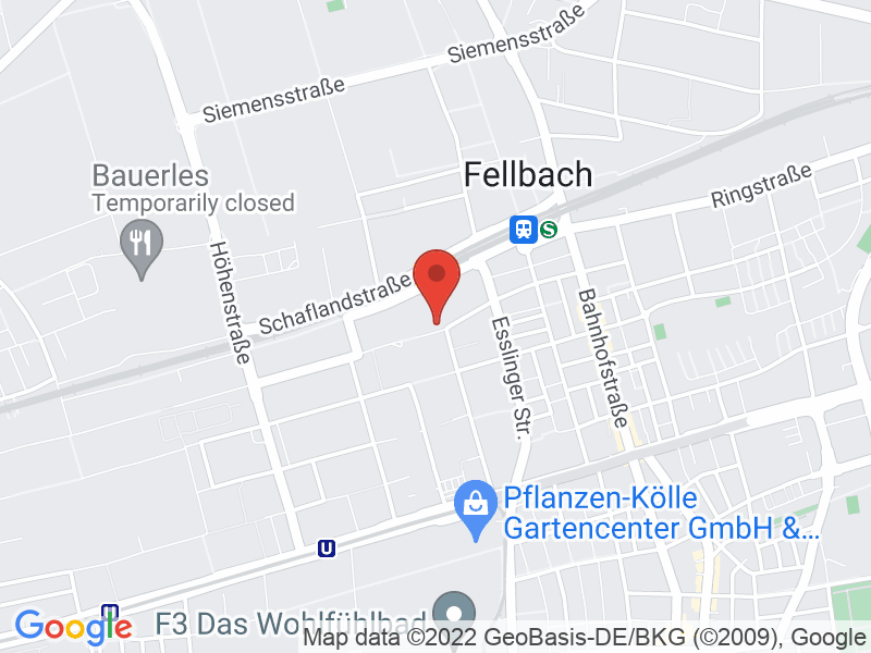 Map of VDC Fellbach