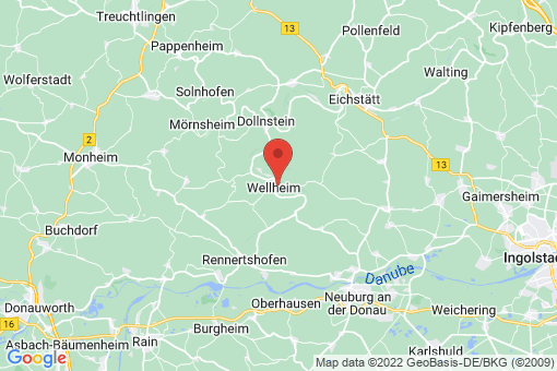 Karte Wellheim
