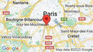 Carte de localisation du centre de contrôle technique PARIS 14EME ARRONDISSEMENT