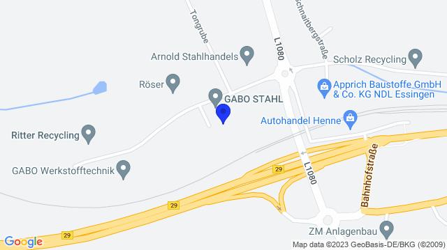 Google Map of 48.8214628,10.0249299