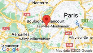 Carte de localisation du centre de contrôle technique BOULOGNE BILLANCOURT