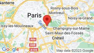 Carte de localisation du centre de contrôle technique CHARENTON LE PONT
