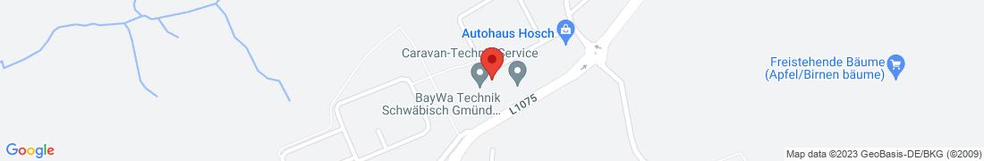 BayWa Technik Schwäbisch Gmünd-Herlikofen Anfahrt
