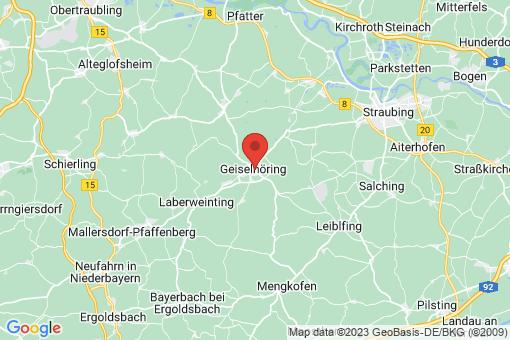 Karte Geiselhöring