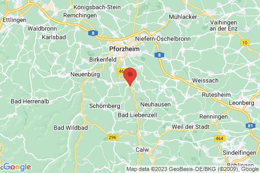 Karte Unterreichenbach