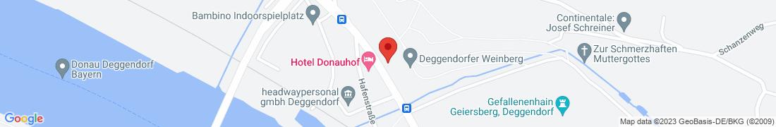 BayWa Tankstelle Deggendorf Anfahrt