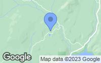 Map of Kettle Falls, WA