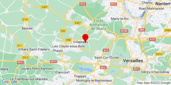 Google Map of 48.8304678,2.0152877