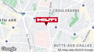 Espace Hilti - La Plateforme du Bâtiment - Paris 14ème