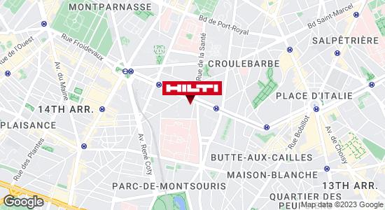 Espace Hilti - La Plateforme du Bâtiment - Montrouge