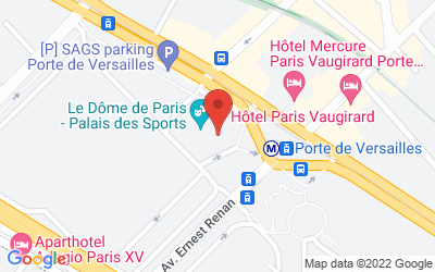 1 Place de la Porte de Versailles, 75015 Paris, France