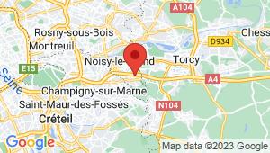 Carte de localisation du centre de contrôle technique NOISY LE GRAND