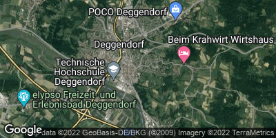 Google Map of Deggendorf