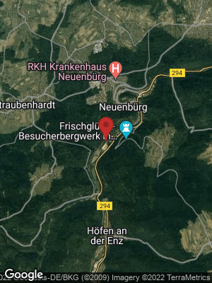 Google Map of Neuenbürg