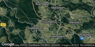 Google Map of Friolzheim