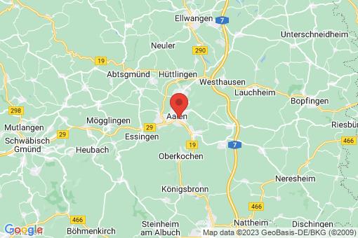 Karte Aalen