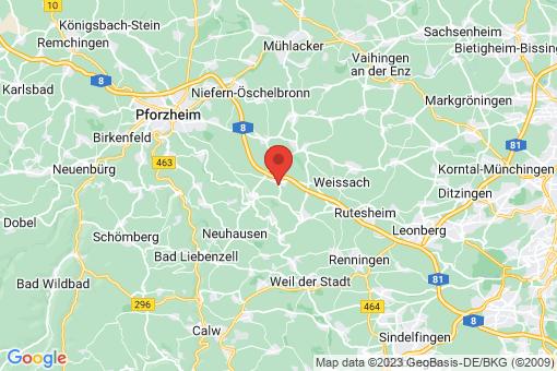 Karte Friolzheim