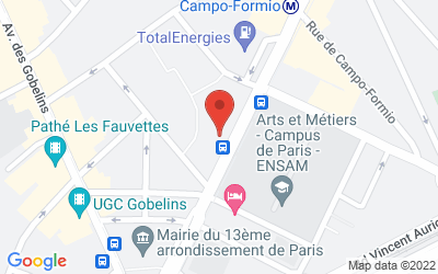136 Boulevard de l'Hôpital, 75013 Paris, France
