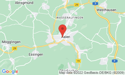 Arbeitsort: Aalen