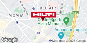 Get directions to Espace Hilti - La Plateforme du Bâtiment - Paris 12ème