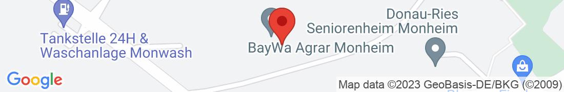 BayWa Agrar Monheim Anfahrt