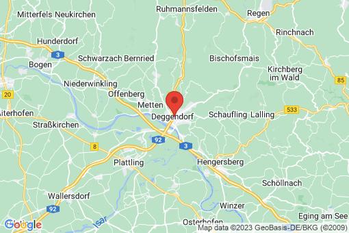 Karte Deggendorf