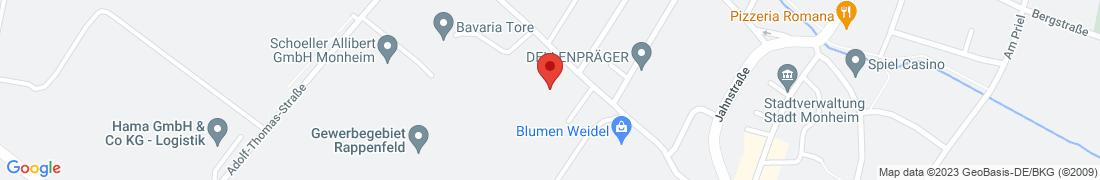 BayWa Technik Monheim Anfahrt
