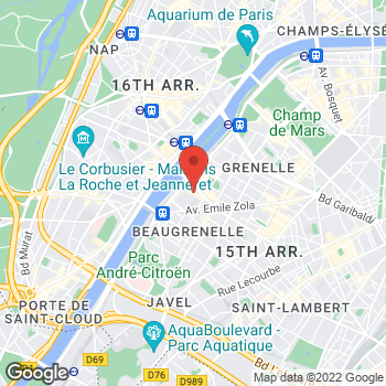 Map of Michael Kors at 15 Rue Linois, Paris, Paris 75015