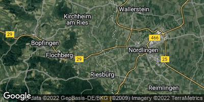 Google Map of Riesbürg