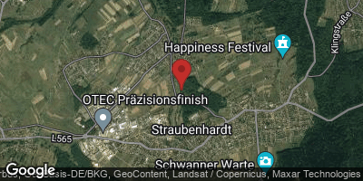 Google Map of Straubenhardt