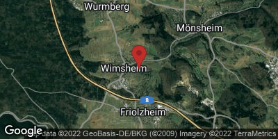 Google Map of Wimsheim