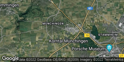 Google Map of Münchingen