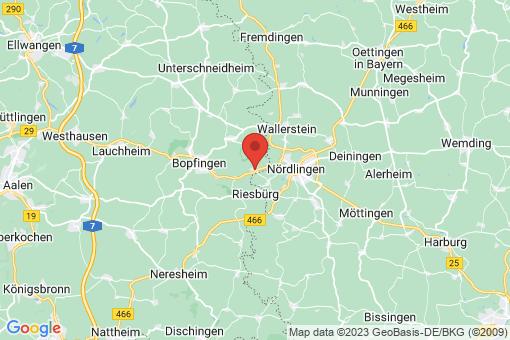 Karte Riesbürg