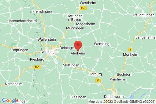 Karte Alerheim
