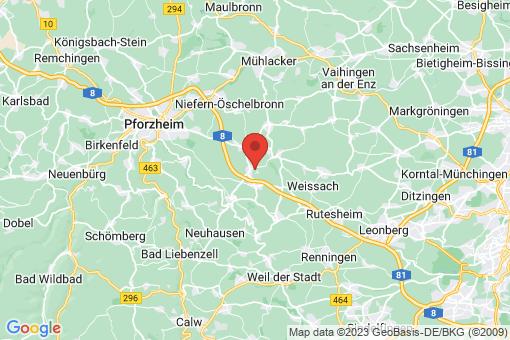 Karte Wimsheim