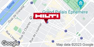 Get directions to Espace Hilti - La Plateforme du Bâtiment - Paris 15ème