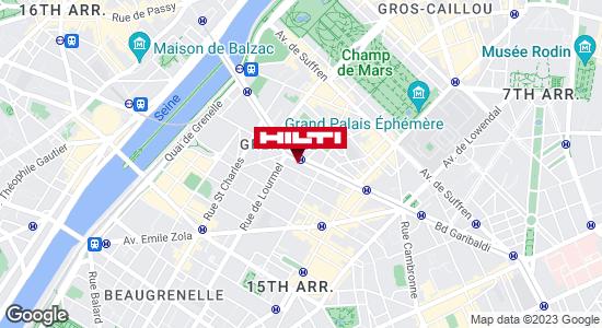 Espace Hilti - La Plateforme du Bâtiment - Paris 15ème, Pte de Vanves