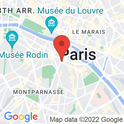Map showing Coutume Institut