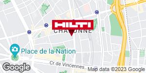 Espace Hilti - La Plateforme du Bâtiment - Paris 20ème Davout